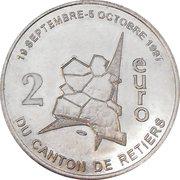 2 Euro du Canton de Retiers 35 – avers