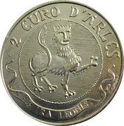 2 euros d'arles [13] – avers