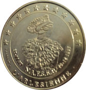 2 euros d'arles [13] – revers