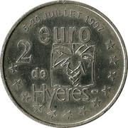2 euros de Hyères [83] – revers