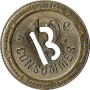 10 centimes à consommer - B – revers