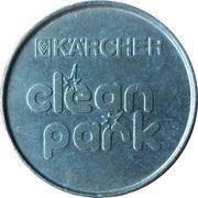 Jeton de lavage automobile - Kärcher Clean Park (Wasch Center Wagner; Datteln) – revers