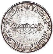 Token - Casino MardiGras (10 Centavos) – avers