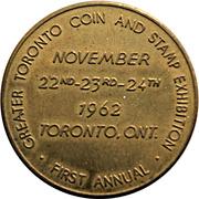 Token - Toronto Coin & Stamp Exhibition / Scotia Bank – avers