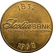 Token - Toronto Coin & Stamp Exhibition / Scotia Bank – revers