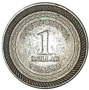 Jeton - Casino La Hacienda (1 Dollar) – revers