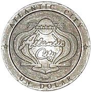Token - Casino Atlantic City (1 Dolar) – avers