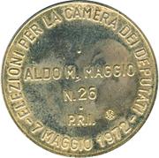 Token - Aldo M. Maggio – revers