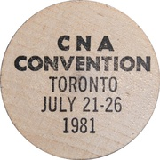 Token - The Canadian Numismatic Association – revers