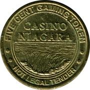 5c. Gaming token - Casino Niagara – avers