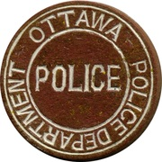 Token - Ottawa Police Department – avers