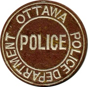 Token - Ottawa Police Department – revers