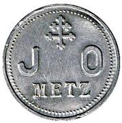 J.O (Jeunes Ouvriers) Metz (57) -  avers
