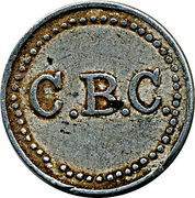 C.B.C. wage token – avers