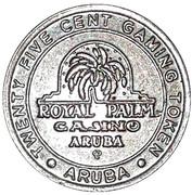 25 Cents - Aruba Royal Palm Casino – avers