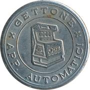 Jukebox Token - Gettone Apparecchi Automatici – avers