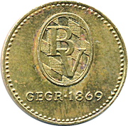 Token - Bayerische Vereinsbank – revers
