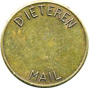 Token - D'ieteren Mail – avers