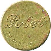 25 Spillemønt - Polet Indløses ikke – avers