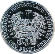 Token - Deutschland (Benedictus XVI) – revers
