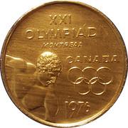 XXI Olympics Montreal – avers