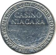 Casino Niagara token – avers