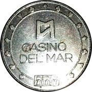Casino Del Mar - Game Token – avers
