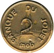 2 Centimes - Banque du Jouet (Mob) – avers