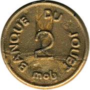 2 Centimes - Banque du Jouet (Mob) – revers