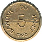 5 Centimes - Banque du Jouet (Mob) – avers