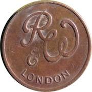 Token - R&W London (21 mm) – avers