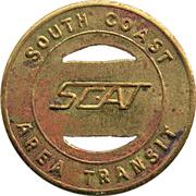 1 Fare - South Coast Area Transit – avers