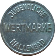 Public Swimming Pool Token - Bad Tölz (youth) – revers