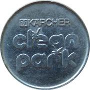 Jeton de lavage automobile - Kärcher Clean Park (Waschpark Bonifatius) – revers