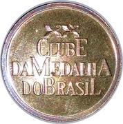 Token - Clube da Medalha do Brasil – avers