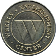 Token - Wheels Entertainment Center (Chatham, Ontario) – avers