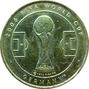 Token - World Cup 2006 (Ivory Coast) – revers