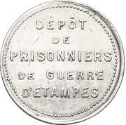 5 centimes - Prisonniers de guerre (Etampes) – avers
