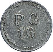 50 centimes - PG 16 Ronchamp (Haute Saone) – avers