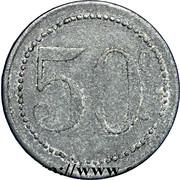 50 centimes - PG 16 Ronchamp (Haute Saone) – revers