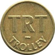 1 Fare - TRT Trolley – avers