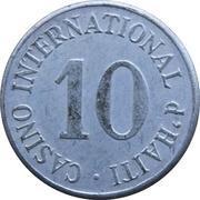 Token - Casino International d'Haiti – avers