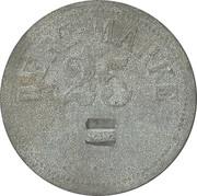 25 pfennig (Wert-Marke ; Contremarque) – avers