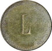 """30 pfennig (Werth-Marke ; Contremarque """"L"""") – revers"""