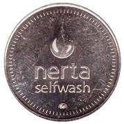 Jeton de lavage automobile - Nerta (28.2 mm; Lobnya) – avers