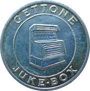 Jukebox Token - Gettone Apparecchi Elettrici (Parco Giochi, Primiero) – revers