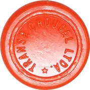 Token - Transp. Choupal Ltda. (round; raised edge) – avers