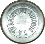 Token - Transp. e Ind. Autobus S.A (S.A without final point and without star) – avers