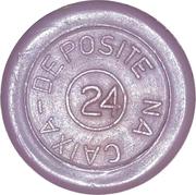 Token - Transp. Estrela Ltda (round) – revers