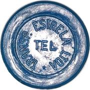 Token - Transp. Estrela Ltda * (round); with star) – avers